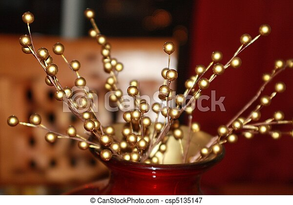 Christmas Table Centerpiece with Go - csp5135147