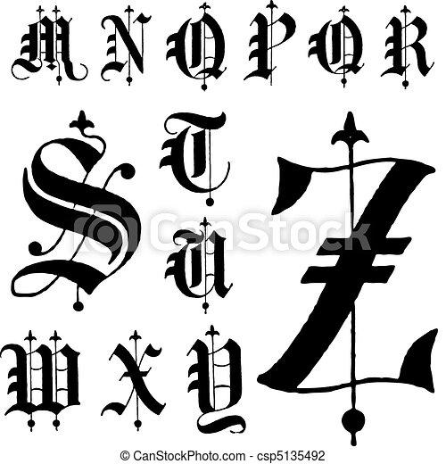 gotica fonts: