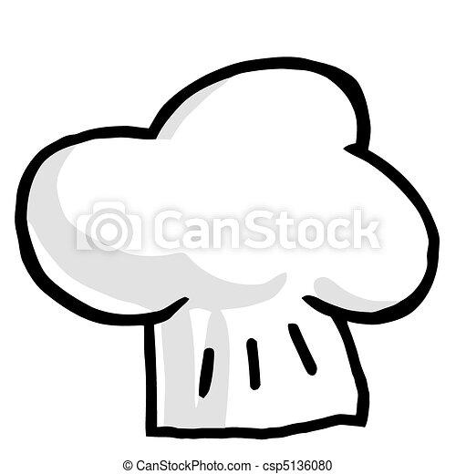 Illustration-Chef\'s Hat  - csp5136080