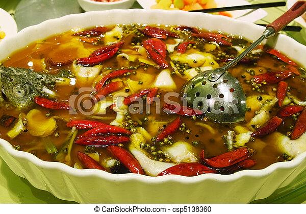 Chinese Sichuan cuisine - csp5138360