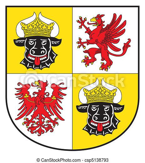 Mecklenburg and Western Pomerania - csp5138793