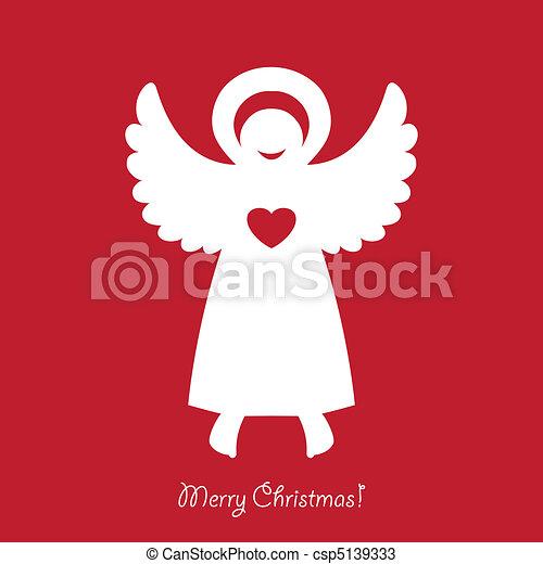 vektoren von christmas angel gratulieren weihnachten. Black Bedroom Furniture Sets. Home Design Ideas
