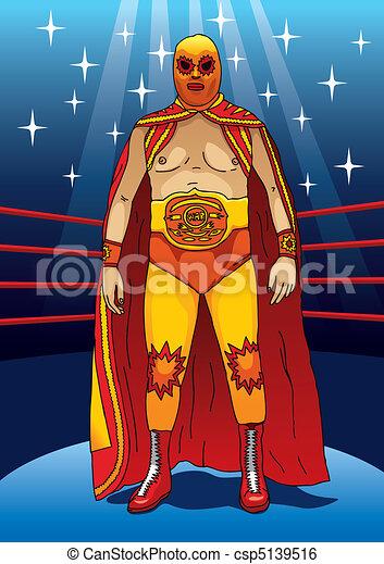 Wrestler - csp5139516