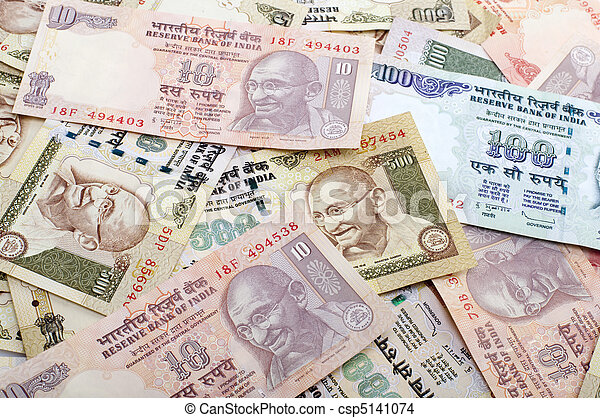 Indian Currency - csp5141074