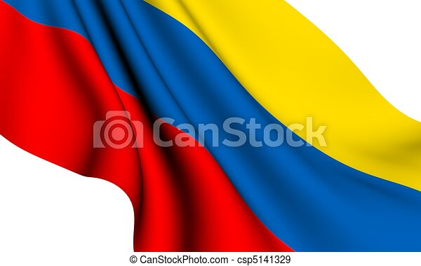 Flag of Colombia  - csp5141329