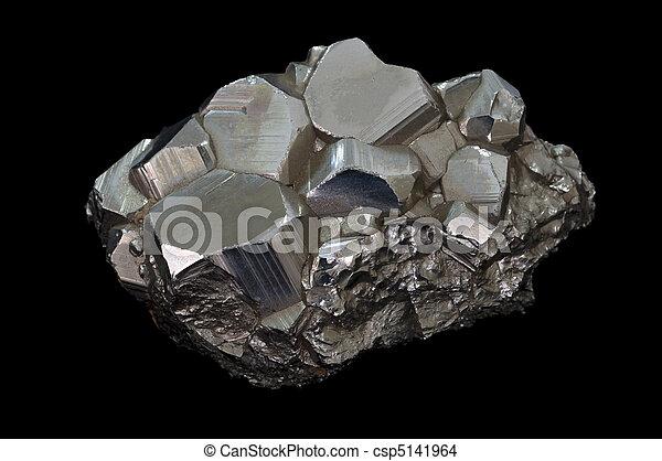 pyrite mineral stone - csp5141964