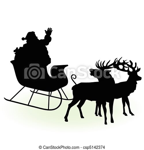 santa claus is preparing  - csp5142374