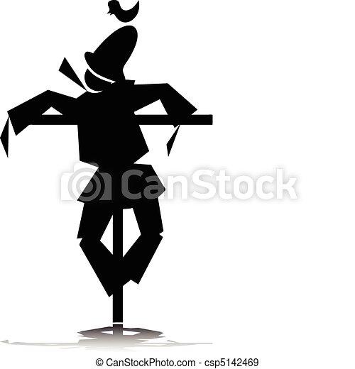 Scarecrow Vector Stock Vector 33483352 - Shutterstock
