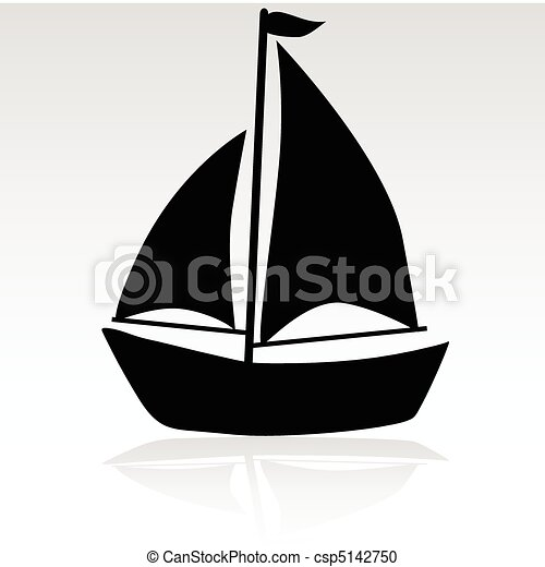 ship simple illustration - csp5142750