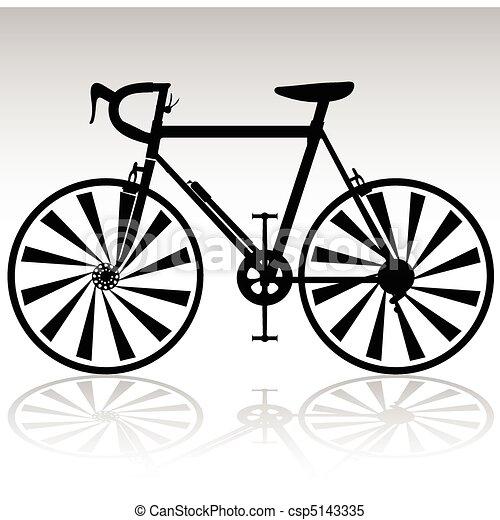 sport bike black - csp5143335