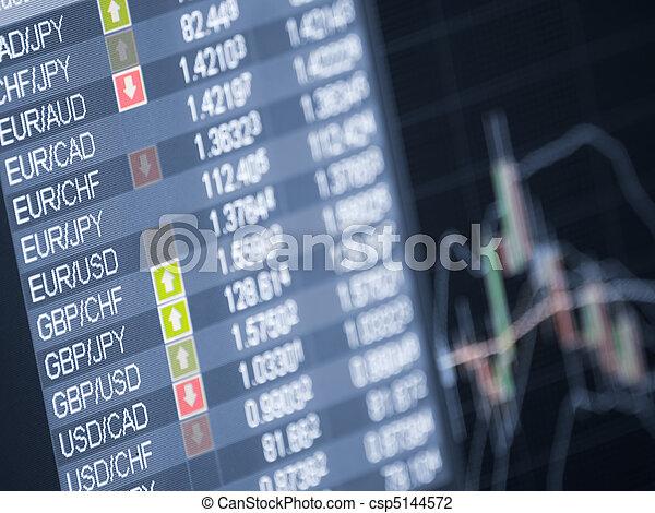 Money trade - csp5144572