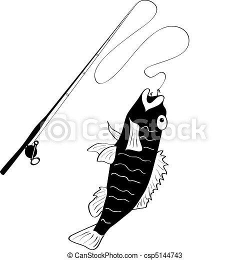 Fishing logo - csp5144743