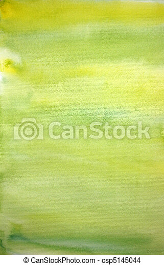 Watercolor lemon hand painted art background for scrapbooking  - csp5145044