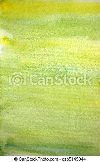 Watercolor lemon hand painted art background for scrapbooking  - csp5145044