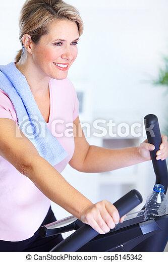 Gym & Fitness - csp5145342