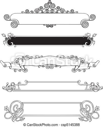 Slim decoration panels - csp5145388