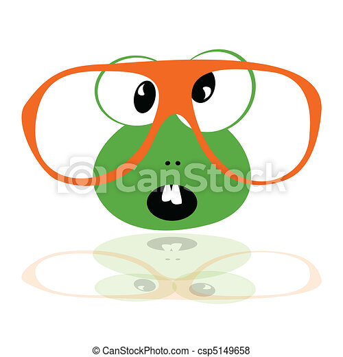 Download image Frog With Glasses Clip Art PC, Android, iPhone and iPad