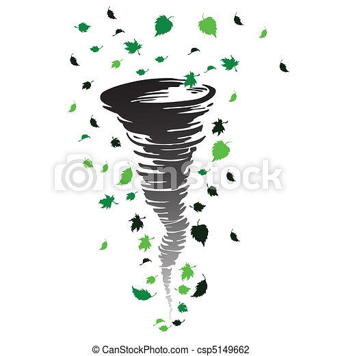 tornado illustration - csp5149662