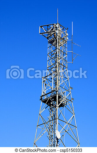 communications tower - csp5150333