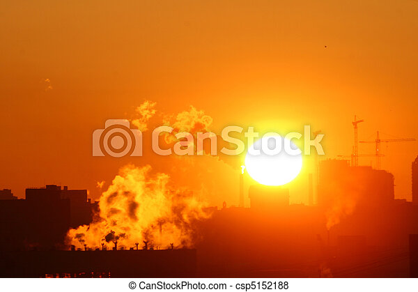 morning warming emissions - csp5152188