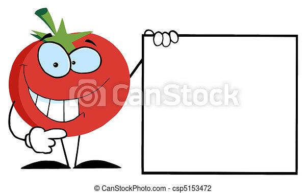 Happy Tomato - csp5153472