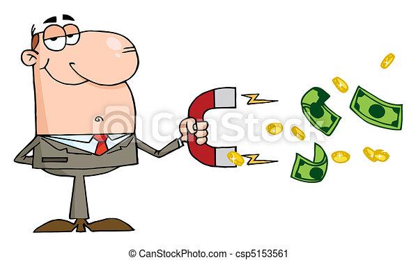 Caucasian Businessman - csp5153561