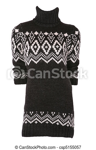 Female turtleneck sweater - csp5155057