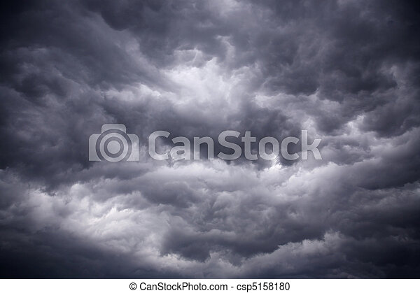 heavy gale black stormy clouds - csp5158180