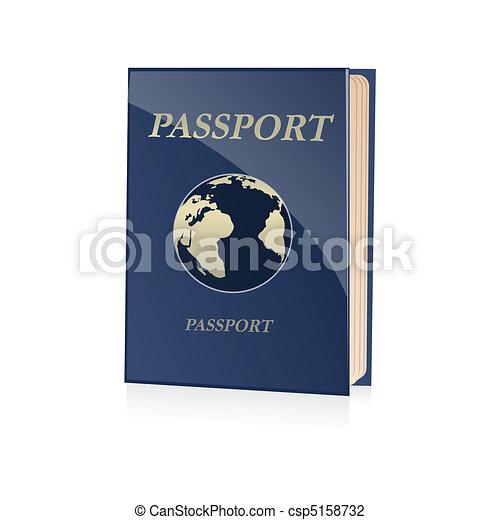 passport icon - csp5158732