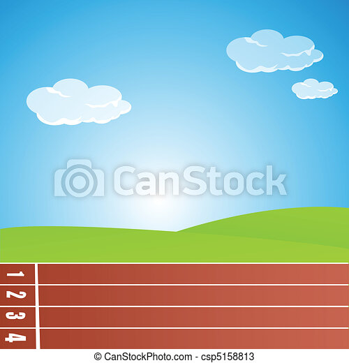 racing track - csp5158813
