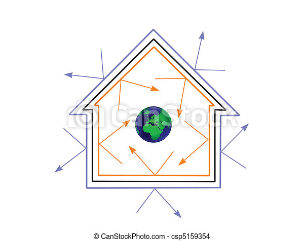 An energy efficiency concept vector illustration - csp5159354