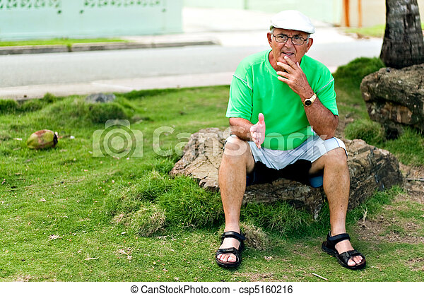 Hispanic Senior Man - csp5160216