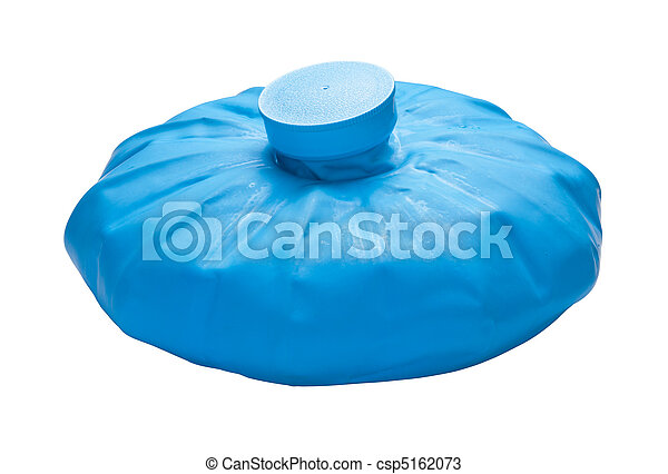 Ice Pack isolated on white - csp5162073