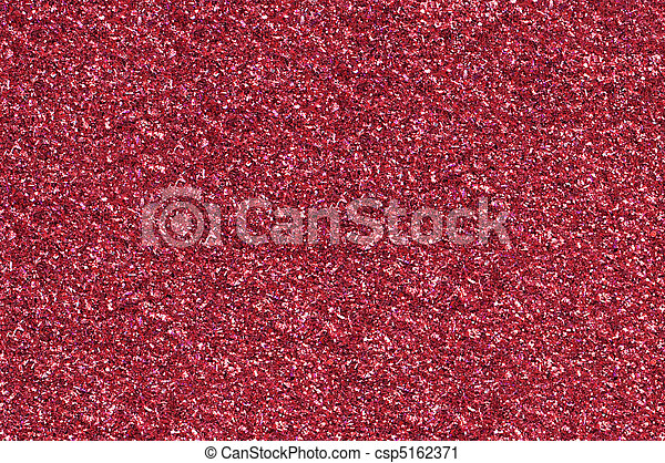 A red glitter background  - csp5162371