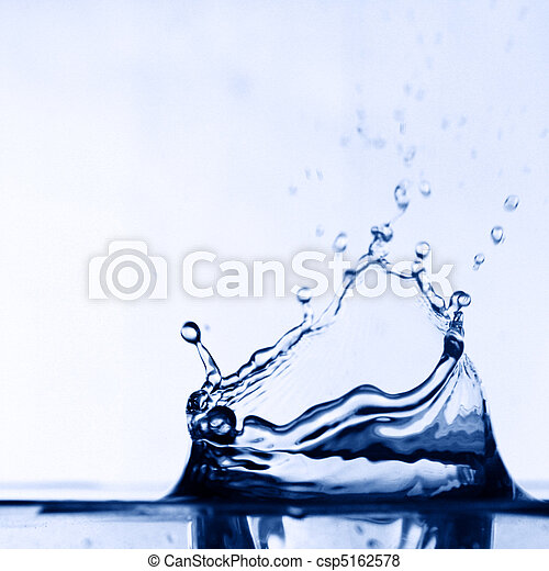 colossal water splash - csp5162578