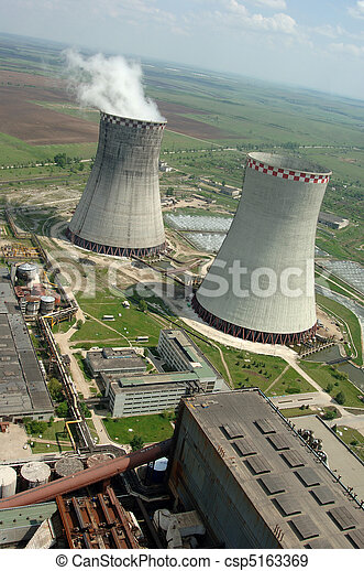 energy producing station - csp5163369