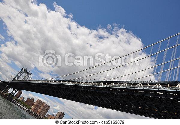 Manhattan Bridge - csp5163879