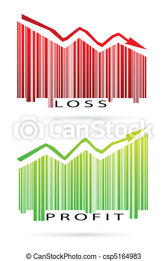 profit and loss graph - csp5164983