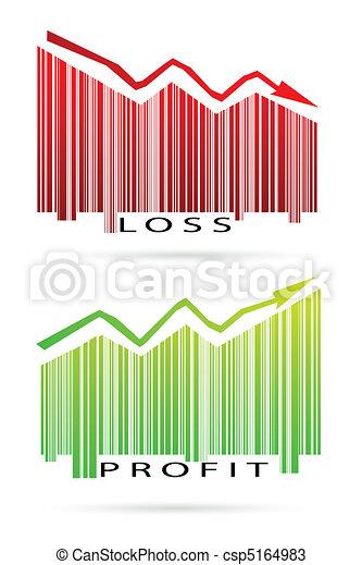 profit and loss graph - csp5164983