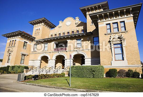 bâtiment, historique,  pensacola - csp5167629