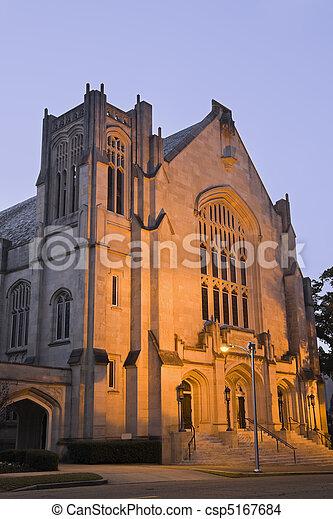 Historic Baptist Church in Jackson - csp5167684