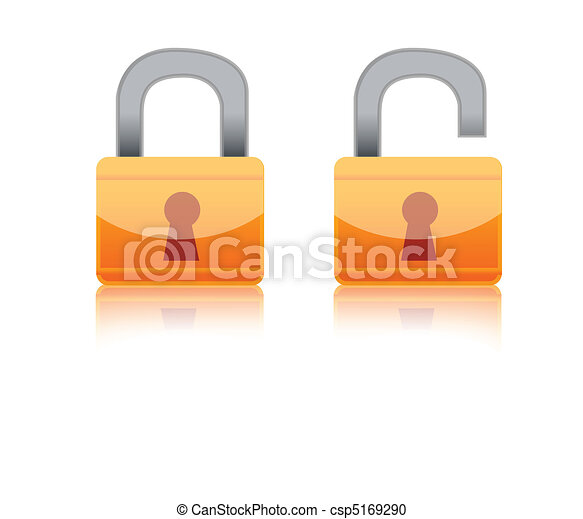 Lock Icon - csp5169290