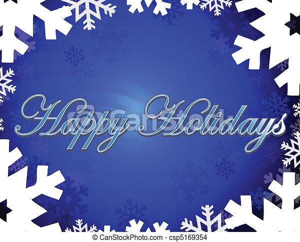 Happy Holidays - csp5169354