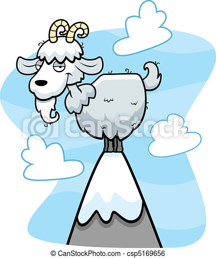 Mountain Goat - csp5169656