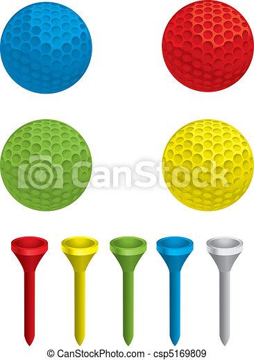 Golf Balls - csp5169809