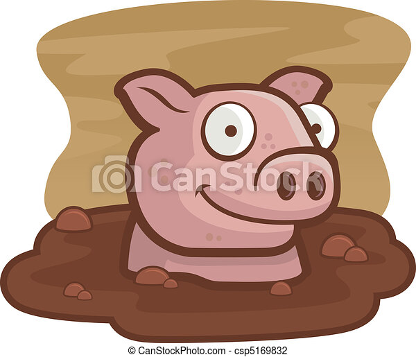 Pig Mud - csp5169832