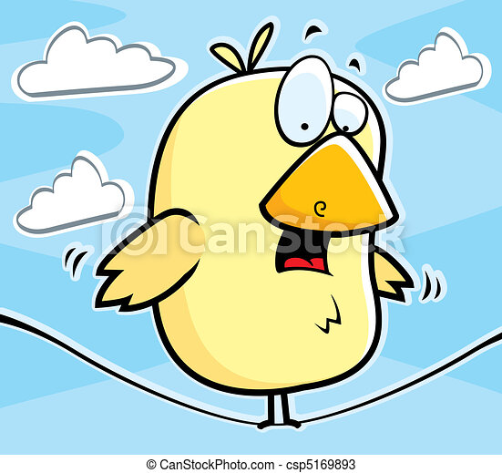 Vector bird on wire stock illustration royalty free illustrations