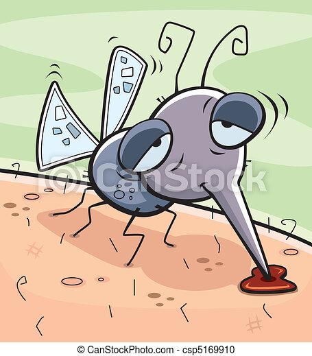 Drunk Mosquito - csp5169910