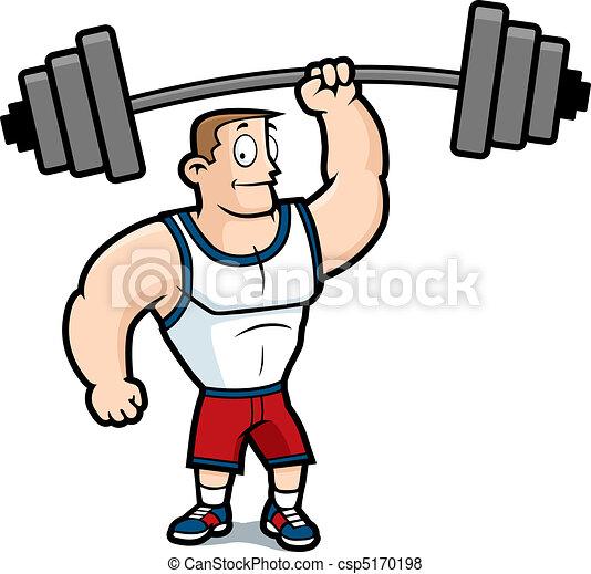 Lifting Weights - csp5170198