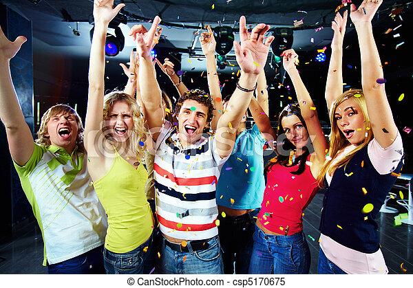 Party excitement - csp5170675